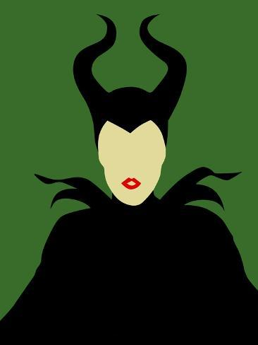 Maleficent Reproduction d'art