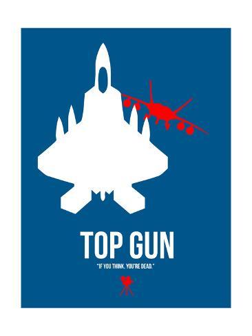Top Gun Reproduction d'art