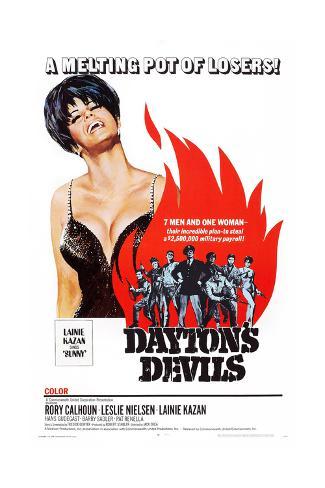 Dayton's Devils Reproduction procédé giclée
