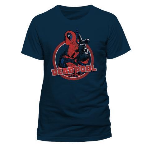 Deadpool - Logo Point T-shirt