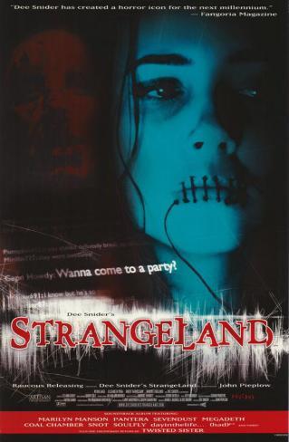 Dee Snider's StrangeLand Affiche originale