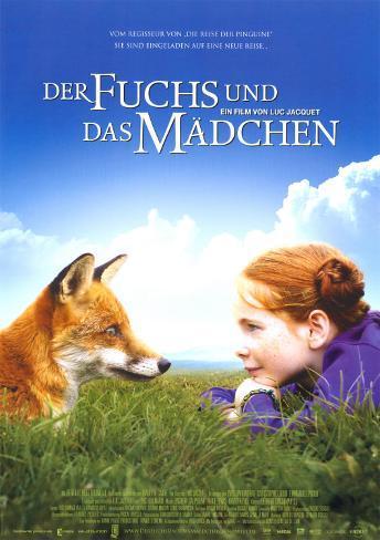 Der Fuchs Und Das Madchen Poster