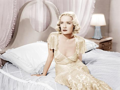Design For Living, Miriam Hopkins, 1933 Photographie
