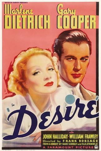 Desire, 1936 Reproduction procédé giclée
