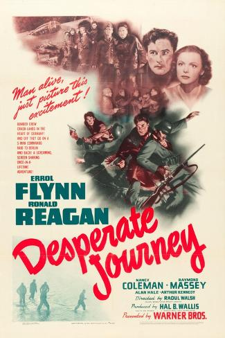 Desperate Journey, 1942 Reproduction d'art