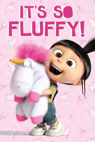 Despicable Me- It's So Fluffy Poster
