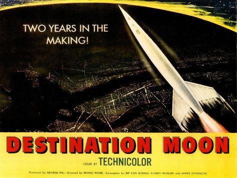 Destination Moon, 1950 Photographie