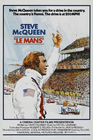 Diego Peretti, Le Mans, 1971 Reproduction procédé giclée