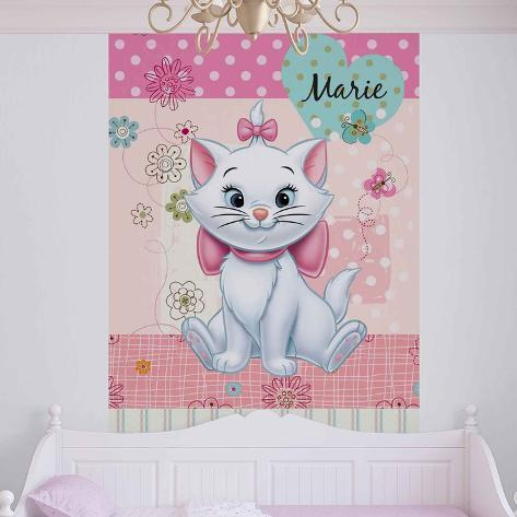Disney Aristocats - Marie Patterned Background - Vlies Non-Woven Mural Papier peint intissé