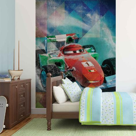 Disney Cars - Francesco Bernoulli - Vlies Non-Woven Mural Papier peint intissé