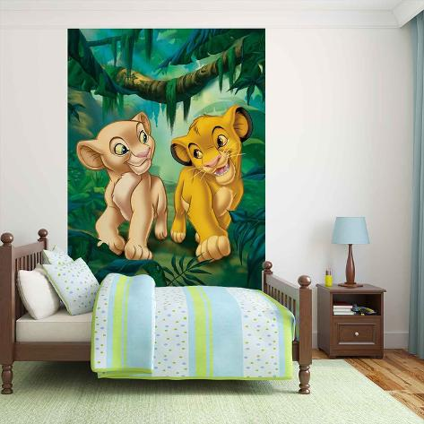 Disney The Lion King - Simba and Nala Papier peint
