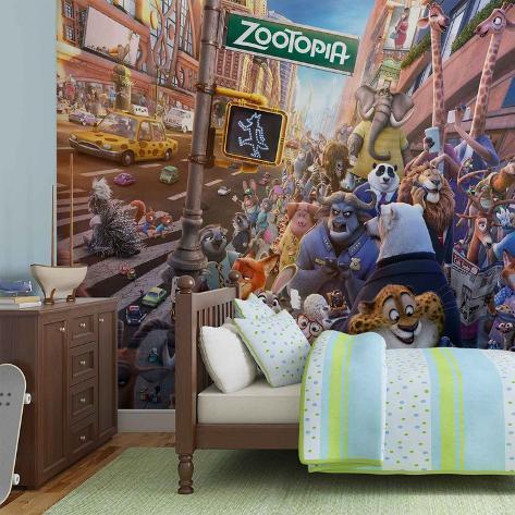 Disney Zootropolis - Animals - Vlies Non-Woven Mural Papier peint intissé