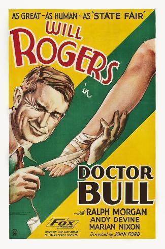 Doctor Bull Reproduction d'art