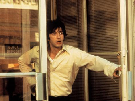 Dog Day Afternoon, Al Pacino, 1975 Photographie