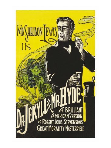 Dr. Jekyll et Mr. Hyde Reproduction d'art