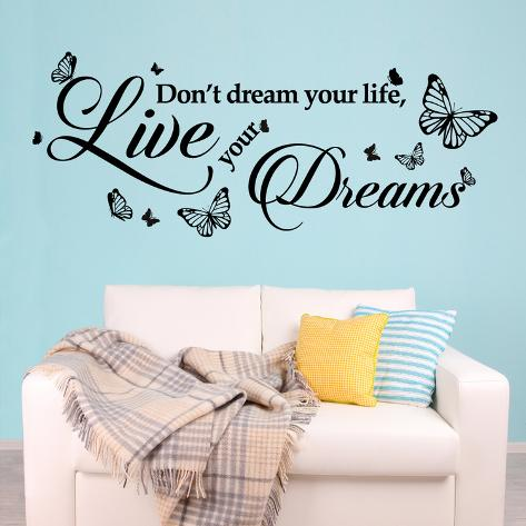 Dream Quote Autocollant mural