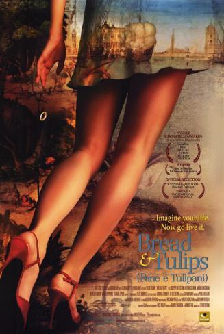 Du pain et des tulipes|Pane e tulipani Affiche originale
