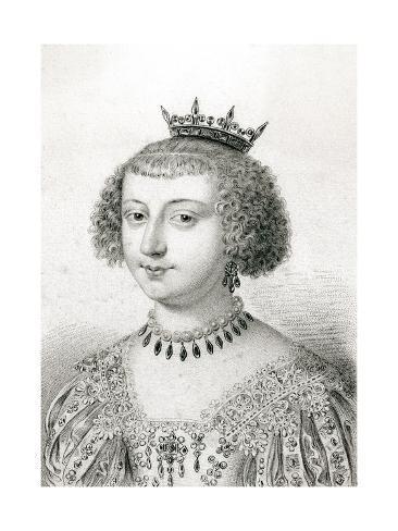 Duchesse de Longueville Reproduction procédé giclée