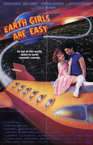 Earth Girls Are Easy Affiche originale
