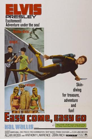 Easy Come, Easy Go, 1967 Reproduction procédé giclée