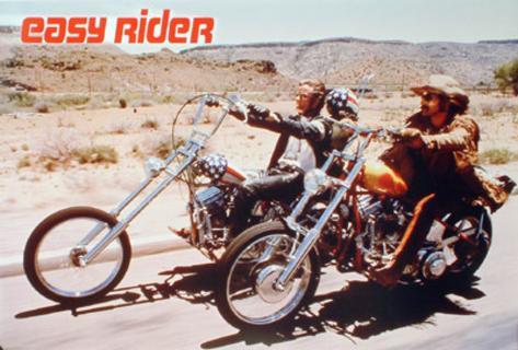 Easy Rider (Dennis Hopper, Peter Fonda) Movie Poster Affiche rééditée