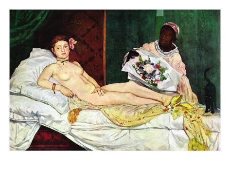 Olympia No.1 Reproduction d'art