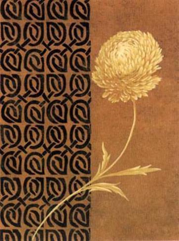 Fleur doréeII Reproduction d'art