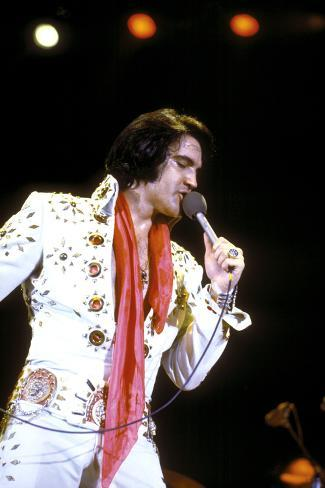 Elvis on Tour, Elvis Presley, 1972 Photographie