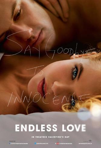 Endless Love - Emma Rigby, Alex Pettyfer advance Affiche double face