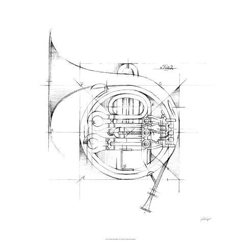 French Horn Sketch Édition limitée