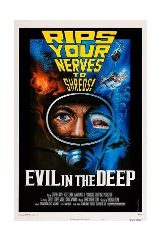 Evil in the Deep Reproduction procédé giclée