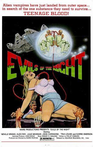 Evils of the Night Affiche originale