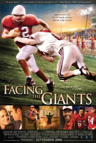 Facing the Giants Affiche originale