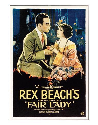 Fair Lady - 1922 Reproduction procédé giclée