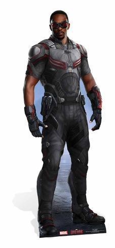 Falcon - Marvel Civil War Silhouettes découpées en carton