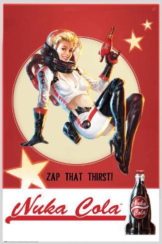 Fallout- Nuka Cola Poster