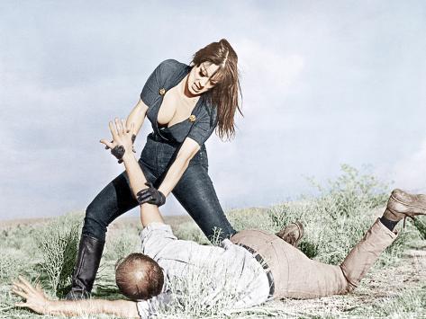 Faster, Pussycat! Kill! Kill!, Tura Satana, Paul Trinka, 1965 Photographie