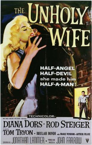 Femme et le rodeur, La|The Unholy Wife Affiche originale