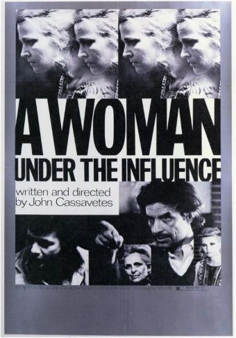 Femme sous influence, Une|A Woman Under the Influence Affiche originale