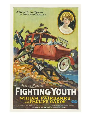 Fighting Youth - 1925 Reproduction procédé giclée