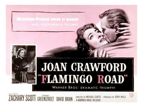 Flamingo Road, Joan Crawford, David Brian, 1949 Photographie