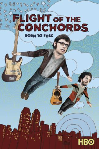 Flight of the Concords-Flying Poster