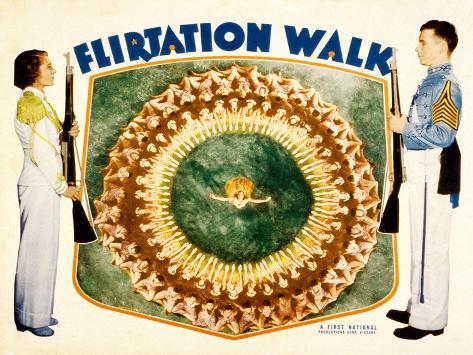 Flirtation Walk, Ruby Keeler, Dick Powell, 1934 Photographie