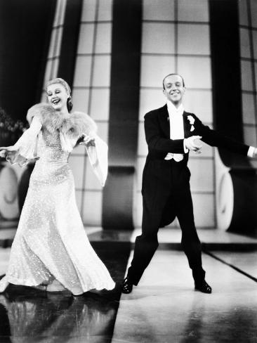 Follow The Fleet, Ginger Rogers, Fred Astaire, 1936 Photographie
