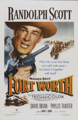 Fort Worth Affiche originale