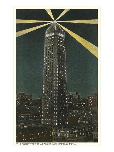 Foshay Tower, Minneapolis, Minnesota Reproduction d'art