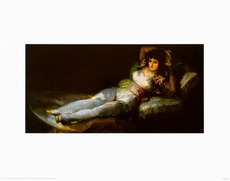 The Clothed Maja Reproduction d'art