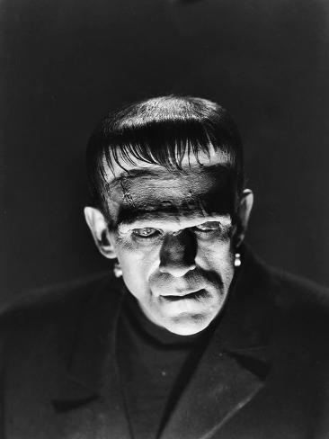 Frankenstein, Boris Karloff, 1931 Photographie