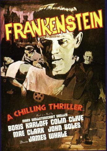 Frankenstein Affiche originale