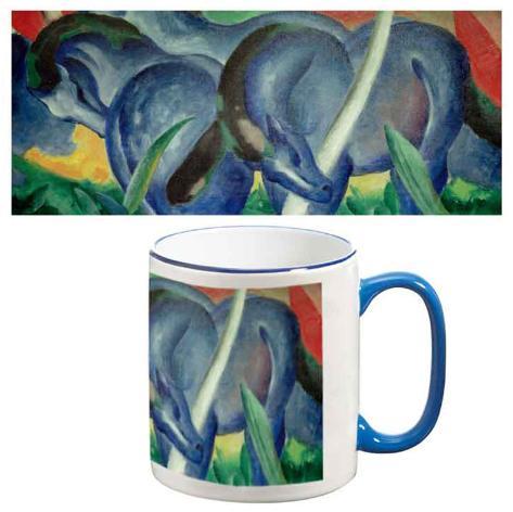 Franz Marc - Large Blue Horses Mug Mug
